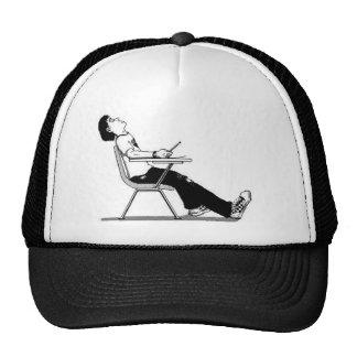 el dormir en gorra de la clase