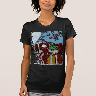 El dormir Rapunzel Camisetas
