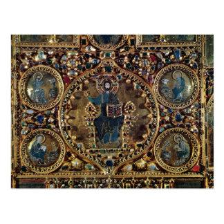 El d'Oro de Pala, detalle de Cristo en majestad Postal