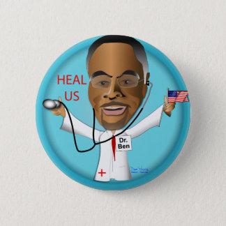 El Dr. Ben Heal los US Chapa Redonda De 5 Cm