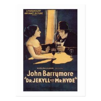 El Dr. Jekyll y película de terror de Sr. Hyde Postal