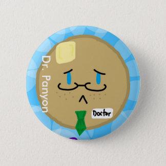 El Dr. Panyon Button Chapa Redonda De 5 Cm