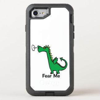 El dragón del dibujo animado me teme funda OtterBox defender para iPhone 7