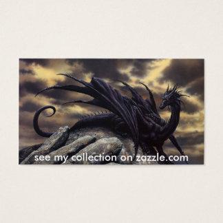 El dragón, _Fantasy, ve mi colección en zazzle.com Tarjeta De Negocios