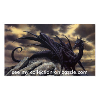 El dragón, _Fantasy, ve mi colección en zazzle.com Plantillas De Tarjetas De Visita