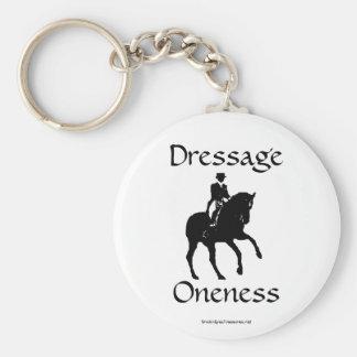 El Dressage es llavero del llavero del caballo de