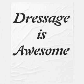 El Dressage es manta impresionante del paño grueso