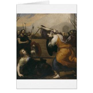 El duelo de las mujeres (el duelo de Isabel de Tarjeta De Felicitación