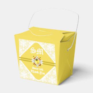 El dulce amarillo décimosexto saca la caja del