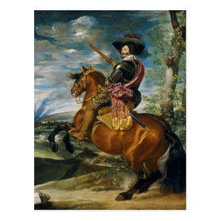 El duque Of Olivares de la cuenta de Diego Velázqu Postal