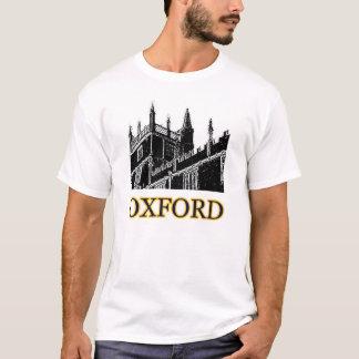 El edificio de Oxford Inglaterra tuerce en espiral Camiseta