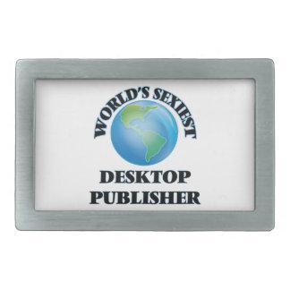 El editor de escritorio más atractivo del mundo hebilla cinturon rectangular