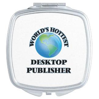 El editor de escritorio más caliente del mundo espejo para el bolso