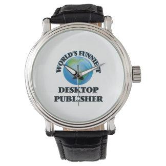 El editor de escritorio más divertido del mundo reloj de mano