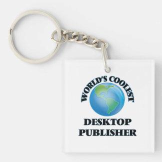 El editor de escritorio más fresco del mundo llavero