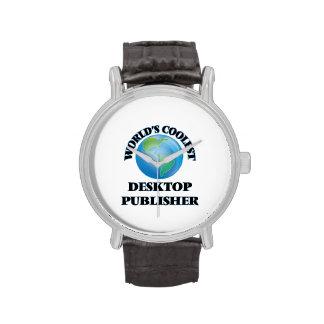 El editor de escritorio más fresco del mundo reloj de mano