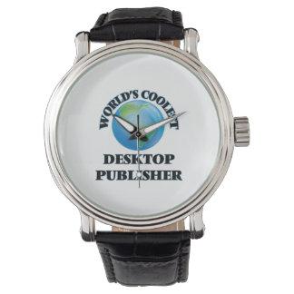El editor de escritorio más fresco del mundo relojes de pulsera
