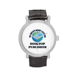 El editor de escritorio más listo del mundo reloj
