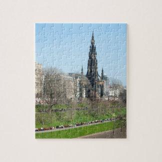El eje, Edimburgo, Escocia Puzzle