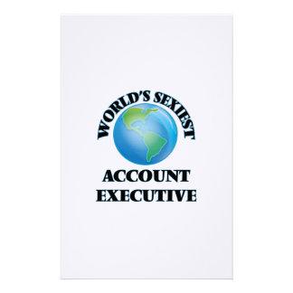 El ejecutivo de la cuenta más atractivo del mundo papeleria