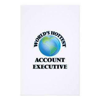 El ejecutivo de la cuenta más caliente del mundo  papeleria