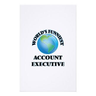 El ejecutivo de la cuenta más divertido del mundo papelería personalizada