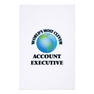 El ejecutivo de la cuenta más listo del mundo papelería