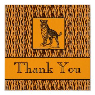 El ejecutivo de la impresión del tigre le agradece