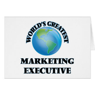 El ejecutivo de marketing más grande del mundo felicitaciones
