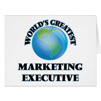 El ejecutivo de marketing más grande del mundo felicitación