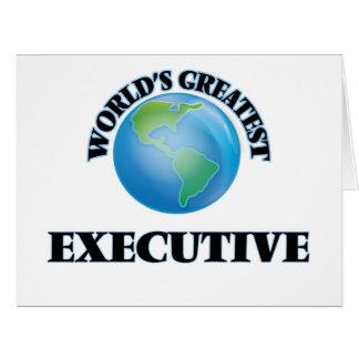 El ejecutivo más grande del mundo felicitación