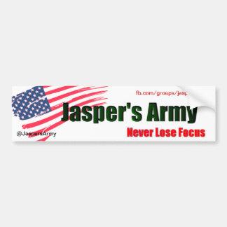 El ejército 1 del jaspe pegatina para coche