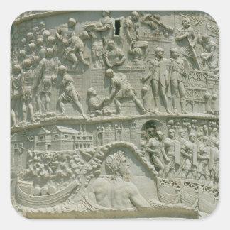 El ejército romano que cruza el Danubio Colcomanias Cuadradas