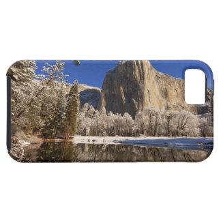 El EL Capitan refleja en el río de Merced adentro Funda Para iPhone SE/5/5s