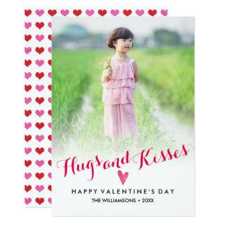El el día de San Valentín abraza la foto de Invitación 12,7 X 17,8 Cm
