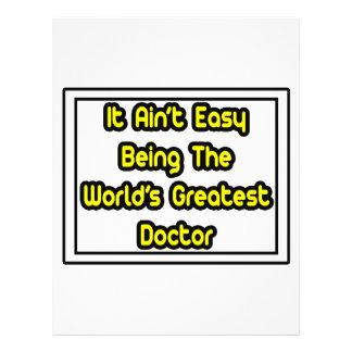 Él el doctor más grande… del mundo fácil de Aint Tarjetón