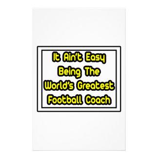 Él el entrenador de fútbol más grande… del mundo f  papeleria