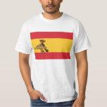 ¡El EL Pulpo Paul invade el bandera de España del Camiseta
