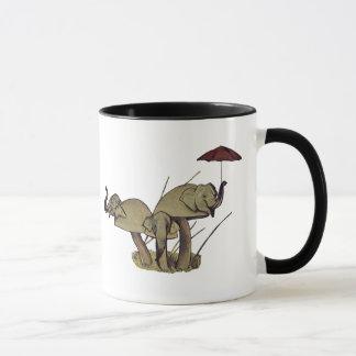 El elefante prolifera rápidamente taza