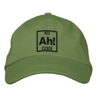 El elemento del bordado de la sorpresa gorra de béisbol