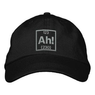 El elemento del bordado de la sorpresa gorra de beisbol bordada