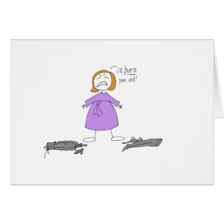 El embarazo es inflamación tarjeta de felicitación