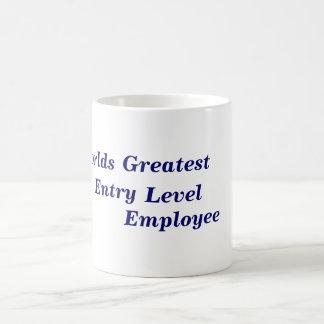 El empleado más grande del nivel de entrada de los taza clásica