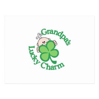 El encanto afortunado del abuelo postal
