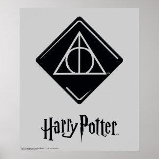 El encanto el   de Harry Potter mortal santifica Póster