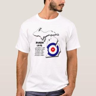 El encresparse de Michigan Camiseta