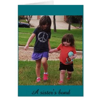 El enlace de la hermana tarjeta