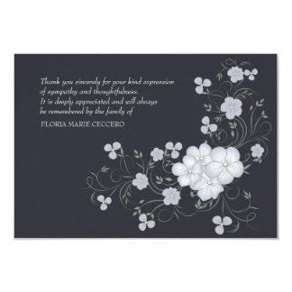 El entierro de la inspiración le agradece cardar invitación 8,9 x 12,7 cm