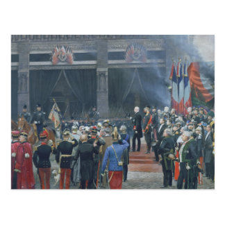 El entierro de Louis Pasteur Postales