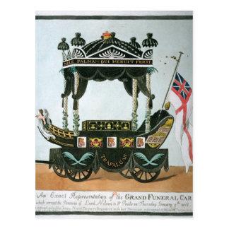 El entierro de señor Nelson el 9 de enero de 1806 Tarjeta Postal